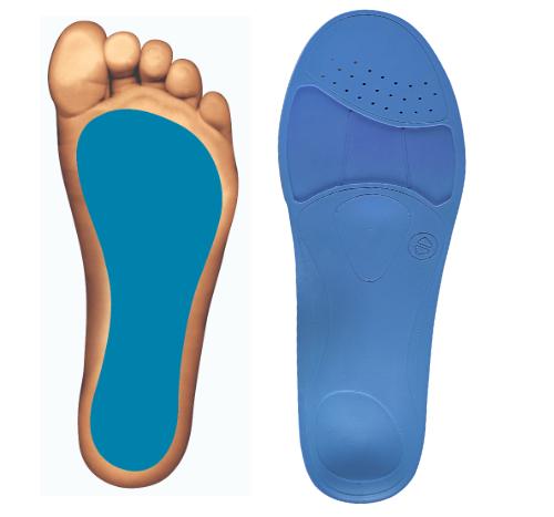 wkładki dla stopy z płaskostopiem