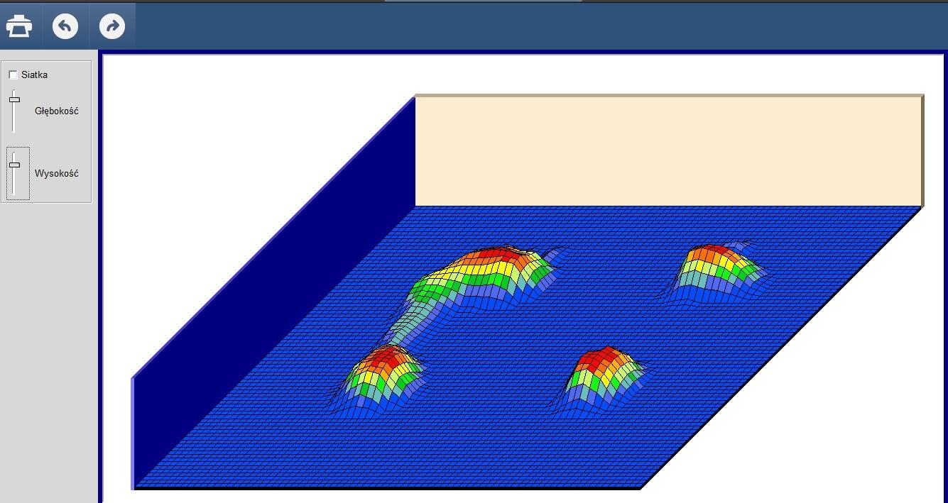 Mata do pedobarografii - analiza wyników w 3D