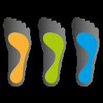 Dopasowanie do wysokości sklepienia podłużnego stopy