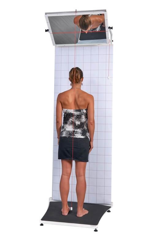 Posturoskop do oceny postawy ciała