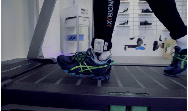 Wkładki tensometryczne - pomiar podczas biegu na bieżni