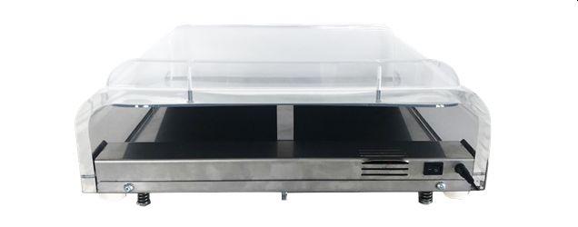 Podoskop z automatycznym systemem włączania i wyłączania
